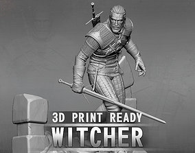 The Witcher 3D print model man
