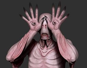 3D model Pale Man