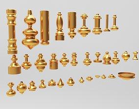 3D PBR Baluster