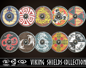 Viking Shield Collection 3 3D model