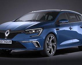 Renault Megane Estate 2017 3D model