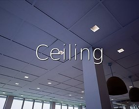 3D asset Ceiling SHC Quick Office