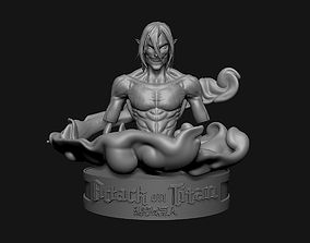 3D printable model eren the titan