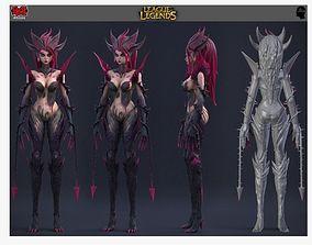 league of legends zyra 3D print model
