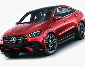 Mercedes-Benz GLE Coupe 2020 gle 3D model