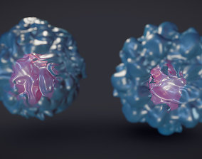 Stem Cells 3D asset