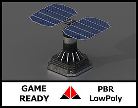 3D model Scifi Solar Panel