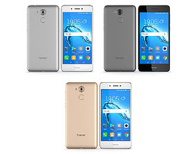 3D Honor 6C All Colors