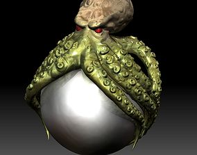 3D model Octopus - Kraken pearl