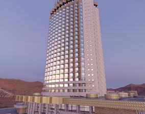 Hotel Kazakhstan 3d model