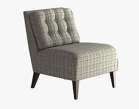 Hampton Lounge Chair 3D