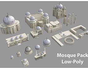 3D asset Mosque Pack