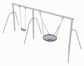 Playground Equipment 087 3D model game-ready