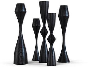 3D Okha - Kapoor Candlesticks