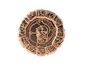 3D print model Medal Astro Sagittarius