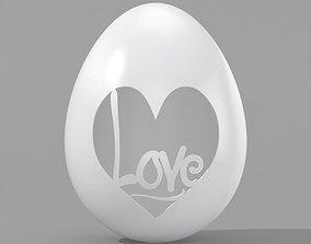 Egg Sculpture N002 3D print model