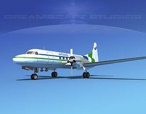 Convair CV-580 Air Florida 3D