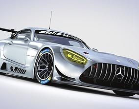 3D model Mercedes AMG GT3 2020
