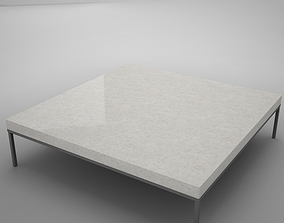 3D model low-poly coffe table