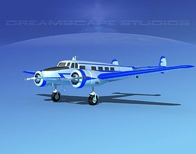 3D Lockheed L10 Electra Private 1