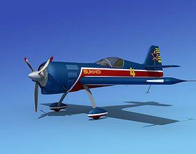 Sukhoi SU-26 Aerobat V06 3D model