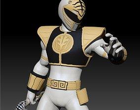 Tommy Oliver - White Tiger Ranger - 3D printable model 4