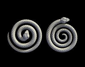 snake infinity 3D printable model