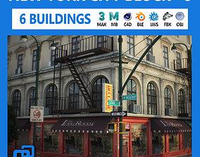 NYC Block Set 8 V2 3D asset realtime