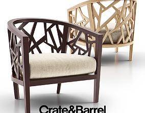 3D Ankara Truffle Frame Chair