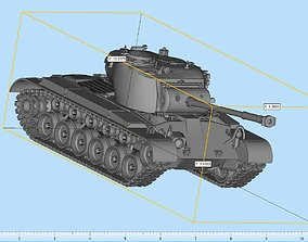 M26 Pershing Highly Detailed 3D print model collectible