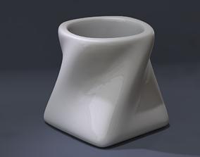 Twisted Espresso Cup 3D print model