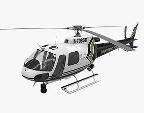 AS-350 San Diego Police 3D model