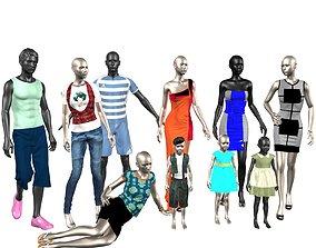 Mannequins 3D