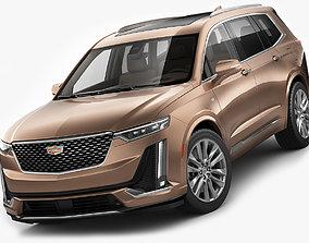 Cadillac XT6 3D model