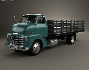 Chevrolet COE Flatbed Truck 1948 3D