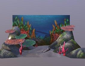 Aquarium Background 3D model