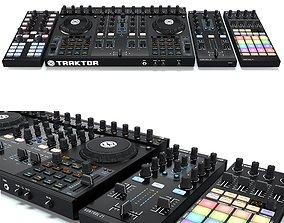 DJ System Native instruments Traktor Kontrol s4 x1 z1 3D