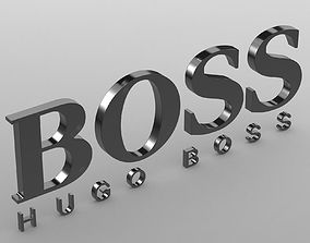 boss logo symbol 3D