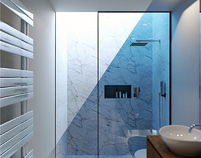 Corona Night and Day bathroom modern 3D model