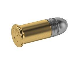 3D asset Bullet 22 SHORT
