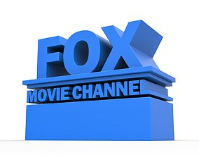 3D printable FOX movie channel logo other