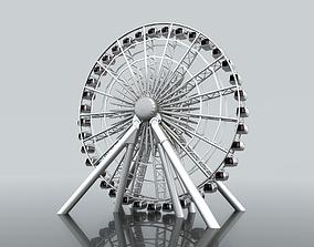 wheel Ferris Wheel 3D model
