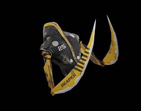 Meka-Reaper 3D asset
