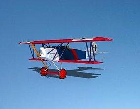 Fokker DVII Toy Plane 1 3D
