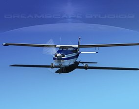 3D model Cessna 210 Centurion V01