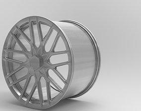 RIM 3D model RSE 19x10 SILVER A2 1000 aluminum