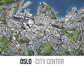 Oslo - city center 3D asset