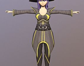dracon85 Cathia Anime Character 3D asset