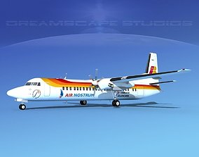 Fokker F-60 Air Nostrum 3D model