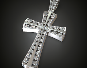 Cross cross jewelry 3D printable model